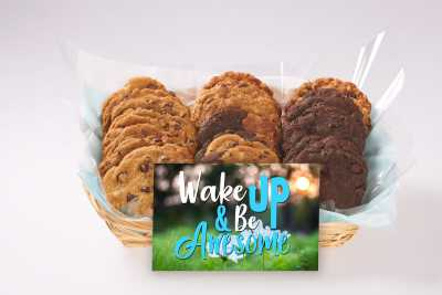 Wake up and Be Awesome Gift Basket