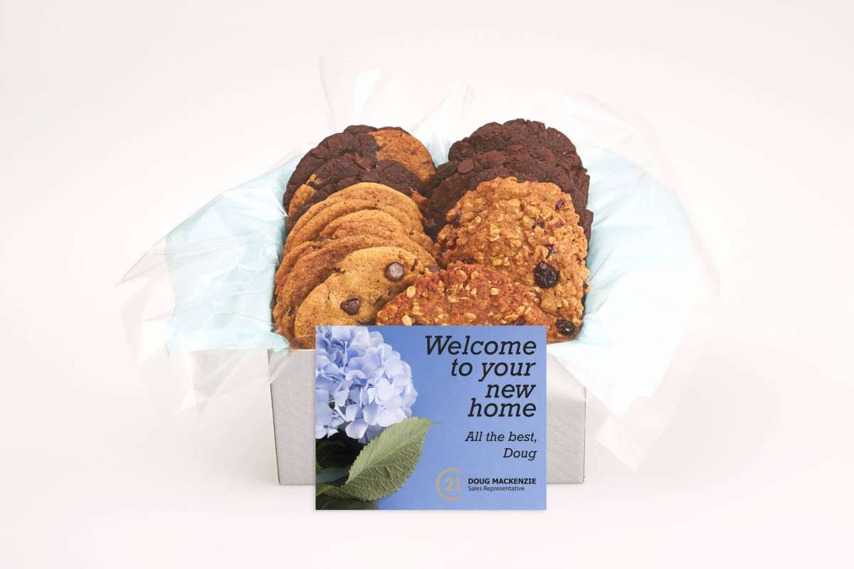 Welcome to your New Home Gift Box