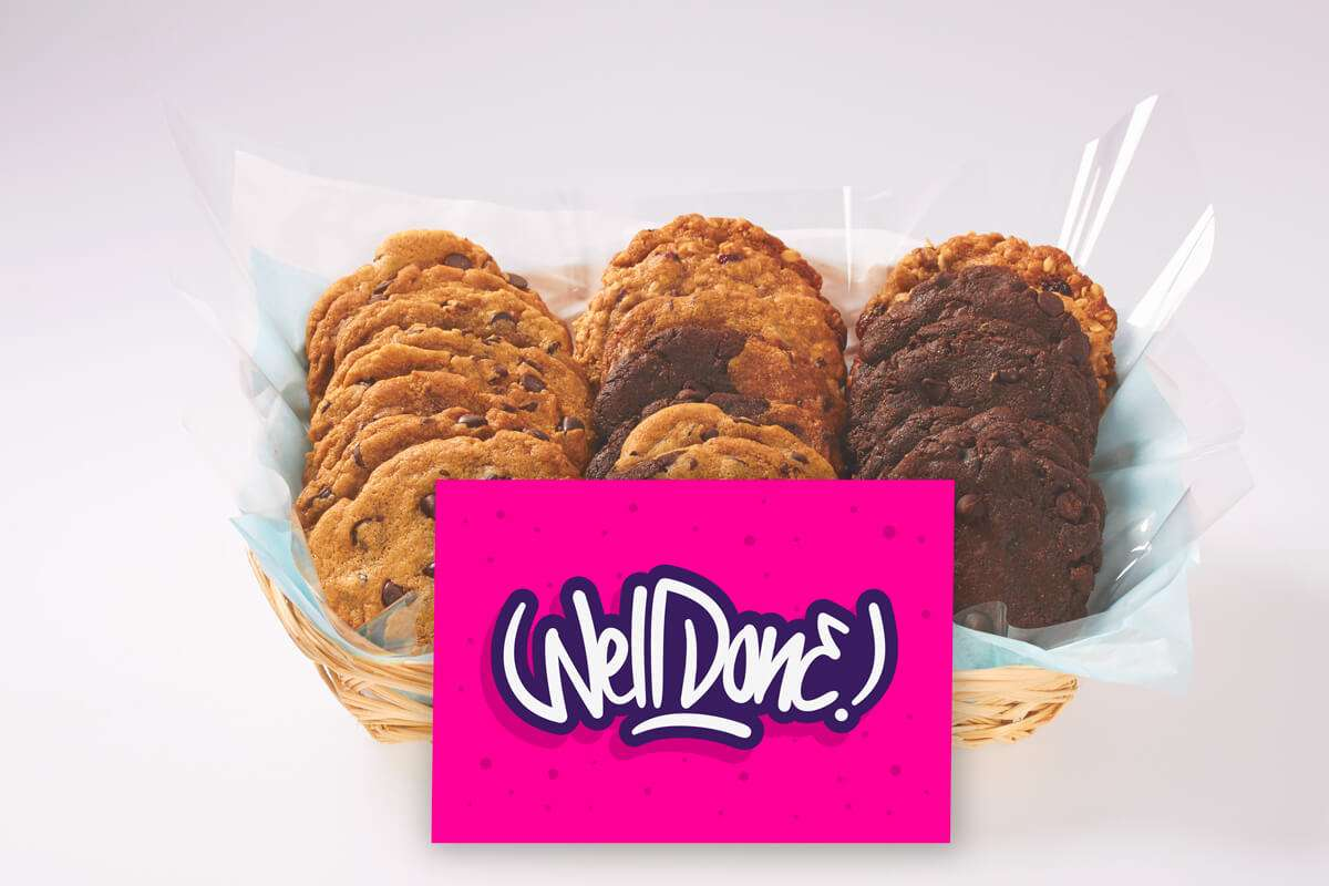 Well Done Cookie Gift Basket