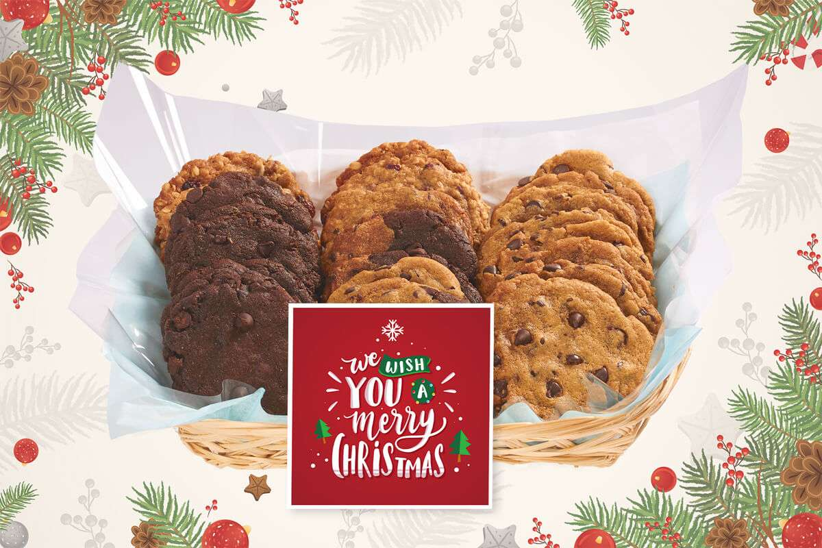 We Wish You a Merry Christmas Cookie Basket