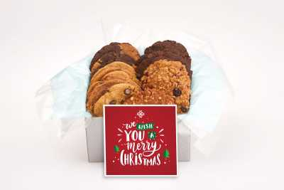 We Wish You a Merry Christmas Cookie Gift Box