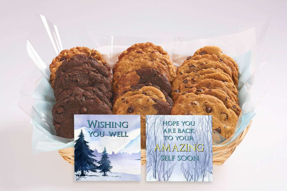 Send someone the gift of wellness with a cookie delivery. This Get Well ...