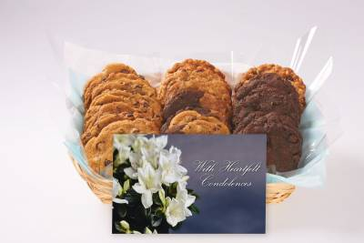 With Heartfelt Condolences Gift Basket