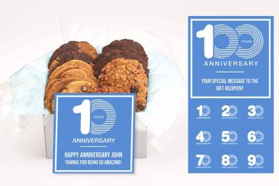 Work Anniversary Cookie Gift Box