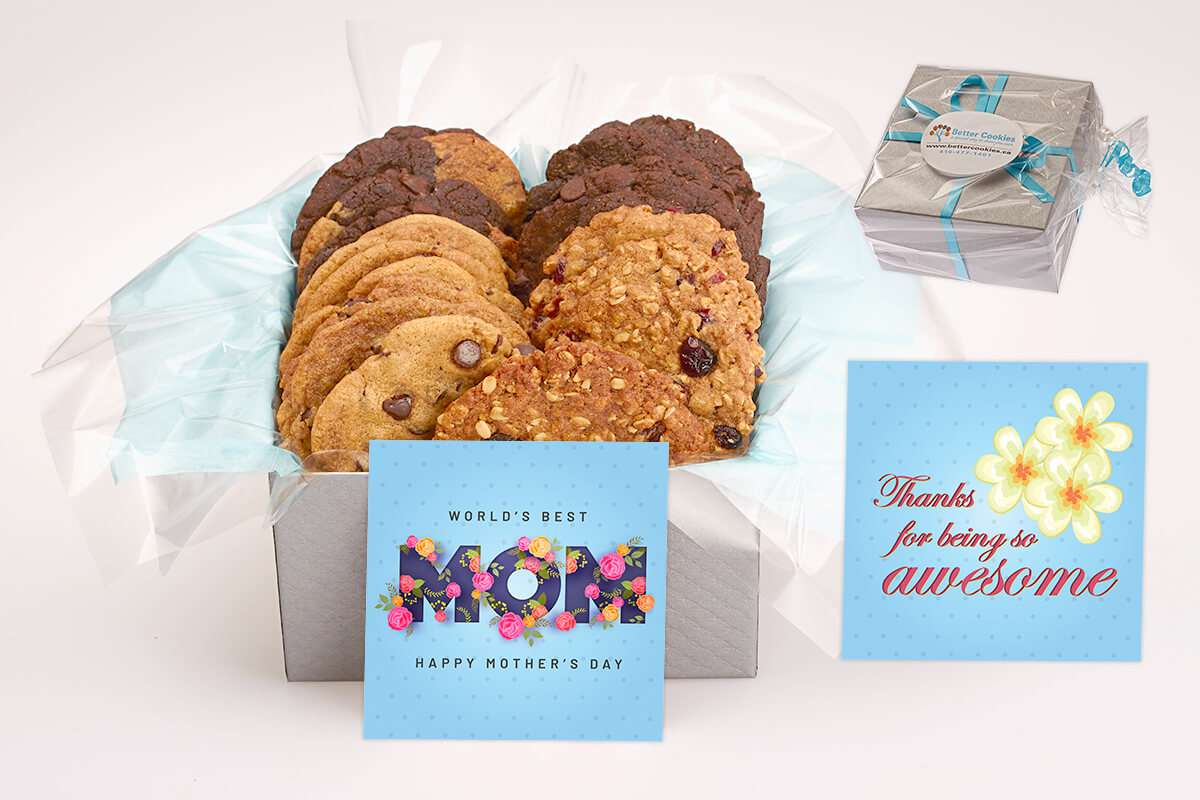 World's Best Mom Cookie Box