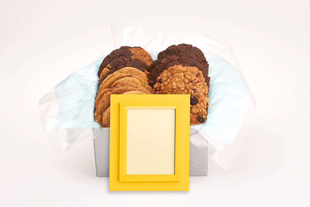 Yellow Frame Gift Box