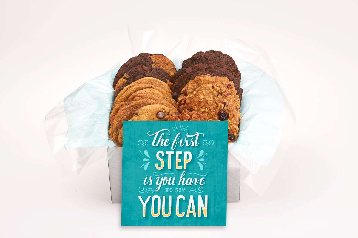 The first step is to say you can Cookie Gift Box