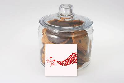 I Love You Precious Cookies in a Jar