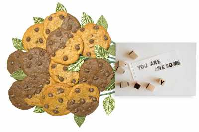 You are Awesome Cookie Flower Bouquet