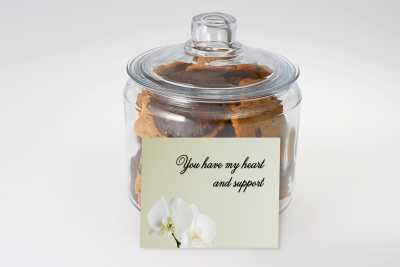 You Have My Heart and Support Cookie Jar